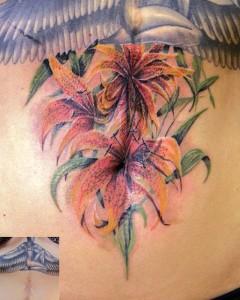 Татуировки на шрамах