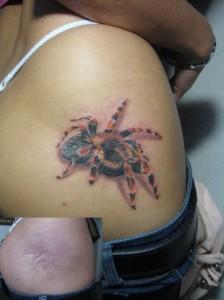 Перекрытие татуировкой
