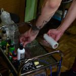 Подготовка рабочего места и инструмента