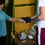Обработка кожи перед нанесением эскиза тату