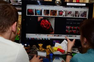 Подбор и обработка макета татуировки